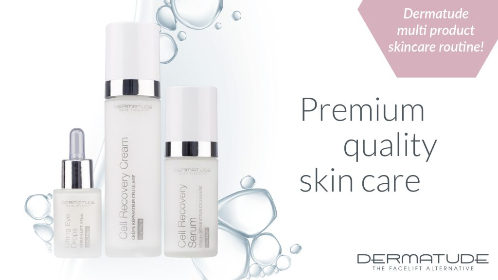 DAILY SKIN CARE ROUTINE WITH DERMATUDE!